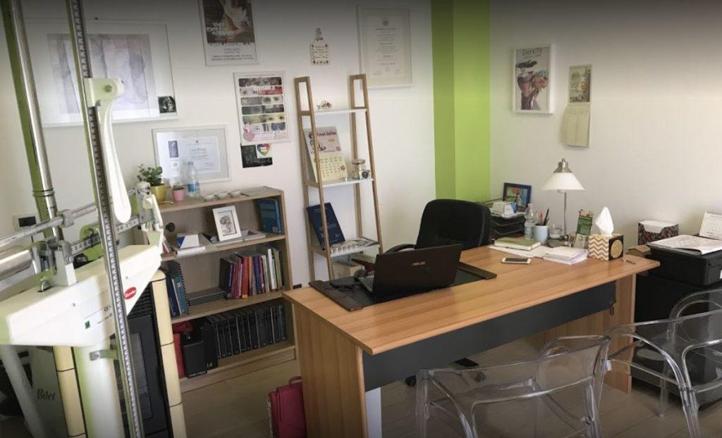 Vista d'insieme dello studio di Brescia di Veronica Bignetti dietista