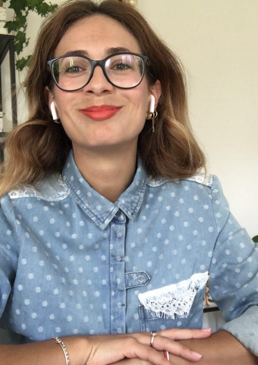 Veronica Bignetti allo studio